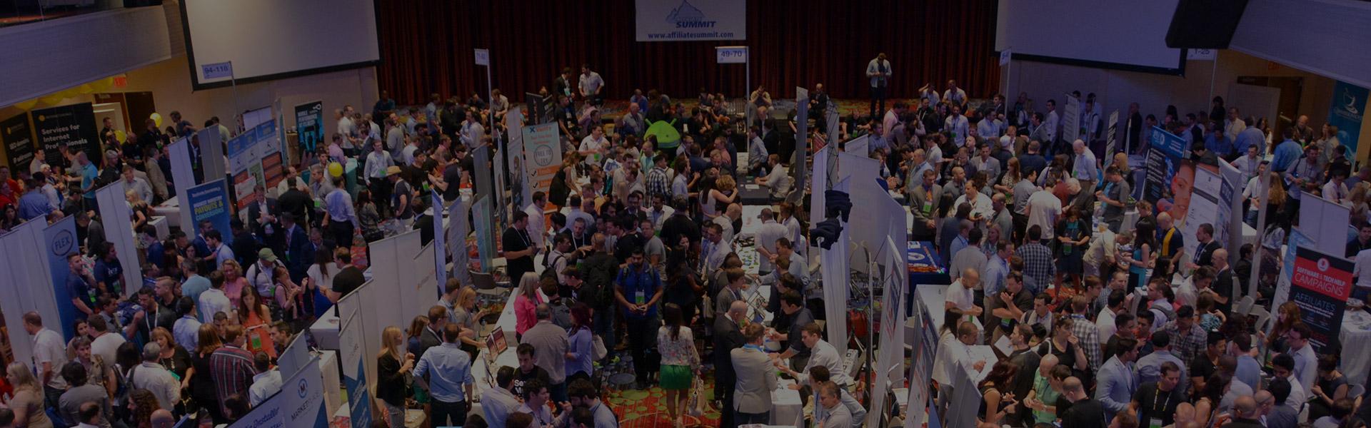 Le Site au Salon Affiliate Summit à New York