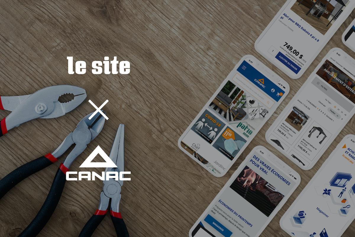 Le Site x Canac Business Case