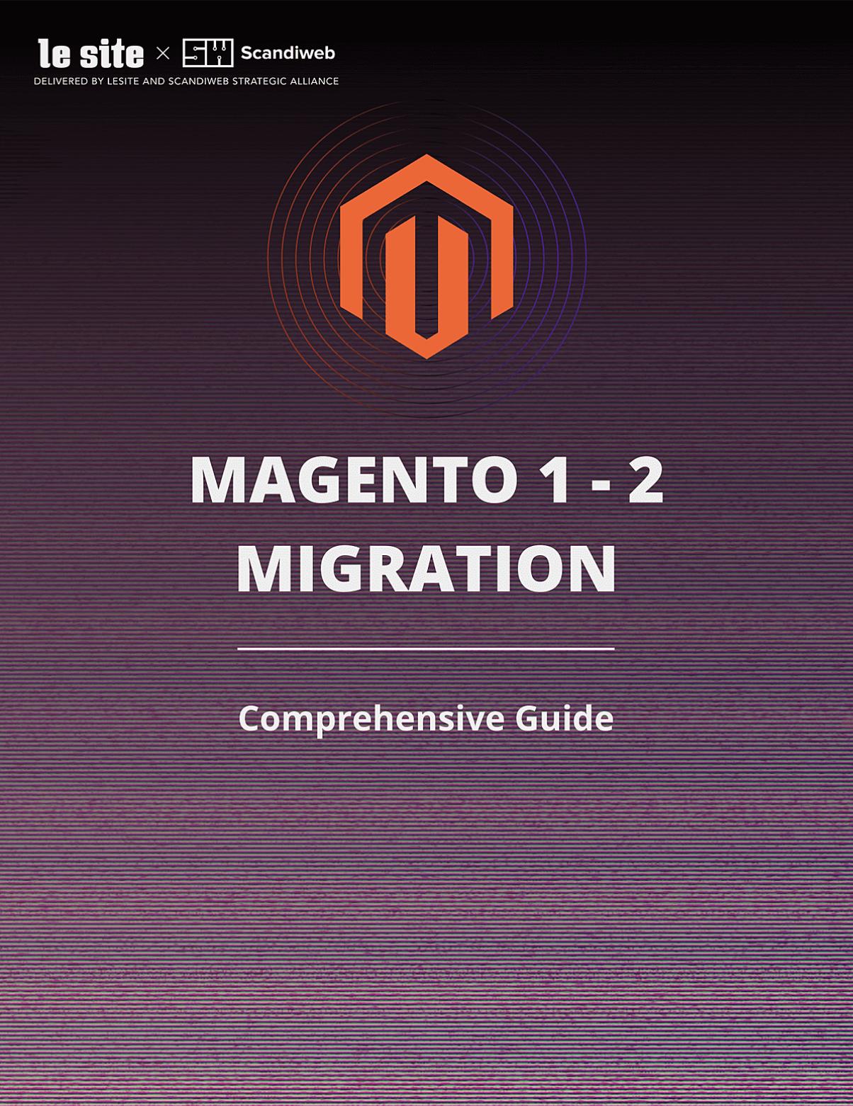 Magento 1 to 2 migration guide cover