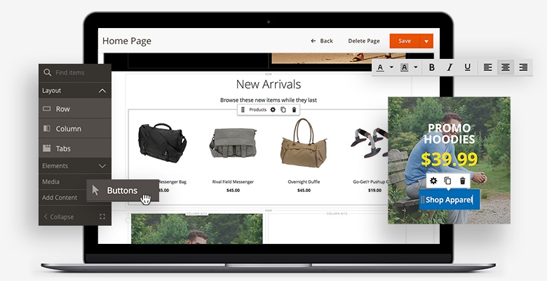 Adobe Commerce Page Builder