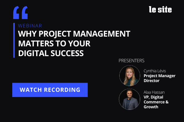 Webinar Recording: Why project management matters to your digital success