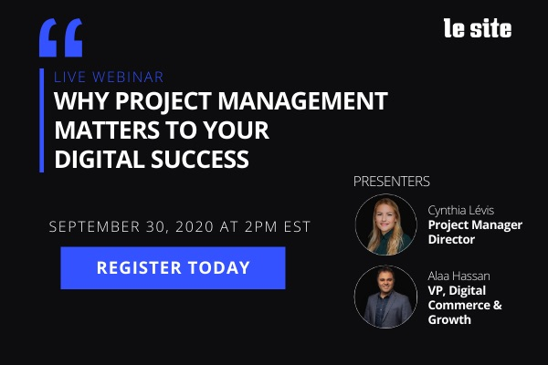 Webinar: Why project management matters to your digital success