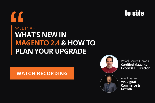 Featured image: Webinar Recording: What's New in Magento 2.4 & How to Plan Your Upgrade