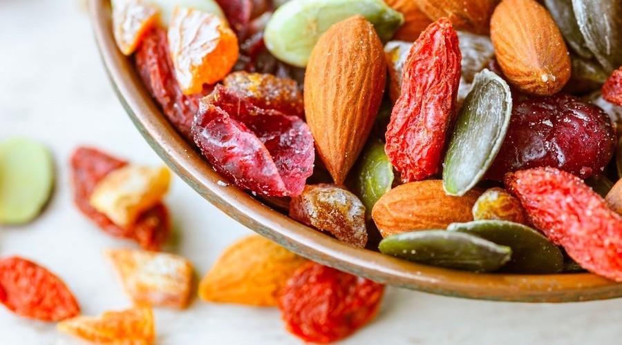 Yupik bol of nuts