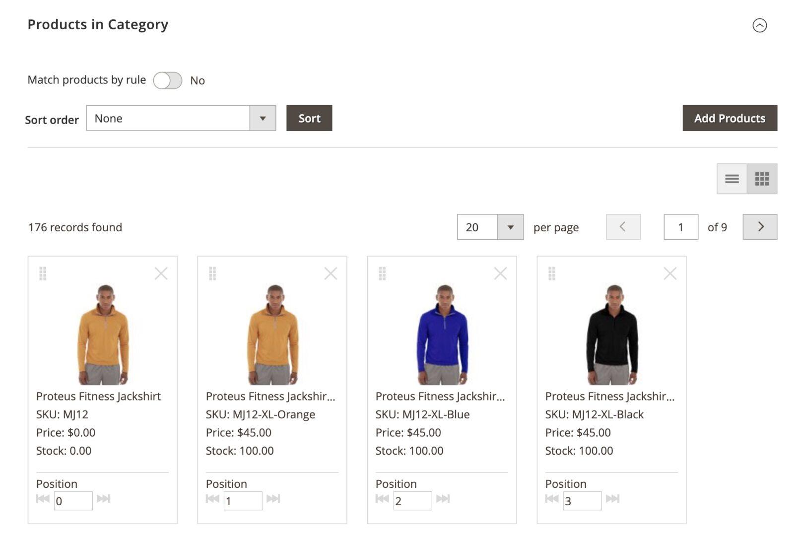 Adobe Commerce Visual Merchandiser